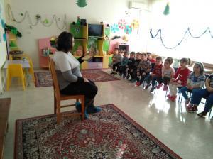 Седмица на четенето - 2А група